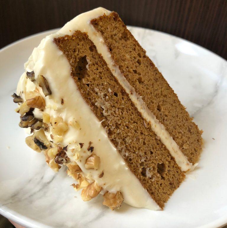 Grain Free Pumpkin Cake