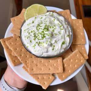 Light Key Lime Pie Dip