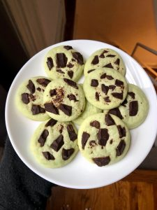 Pistachio Pudding Cookies
