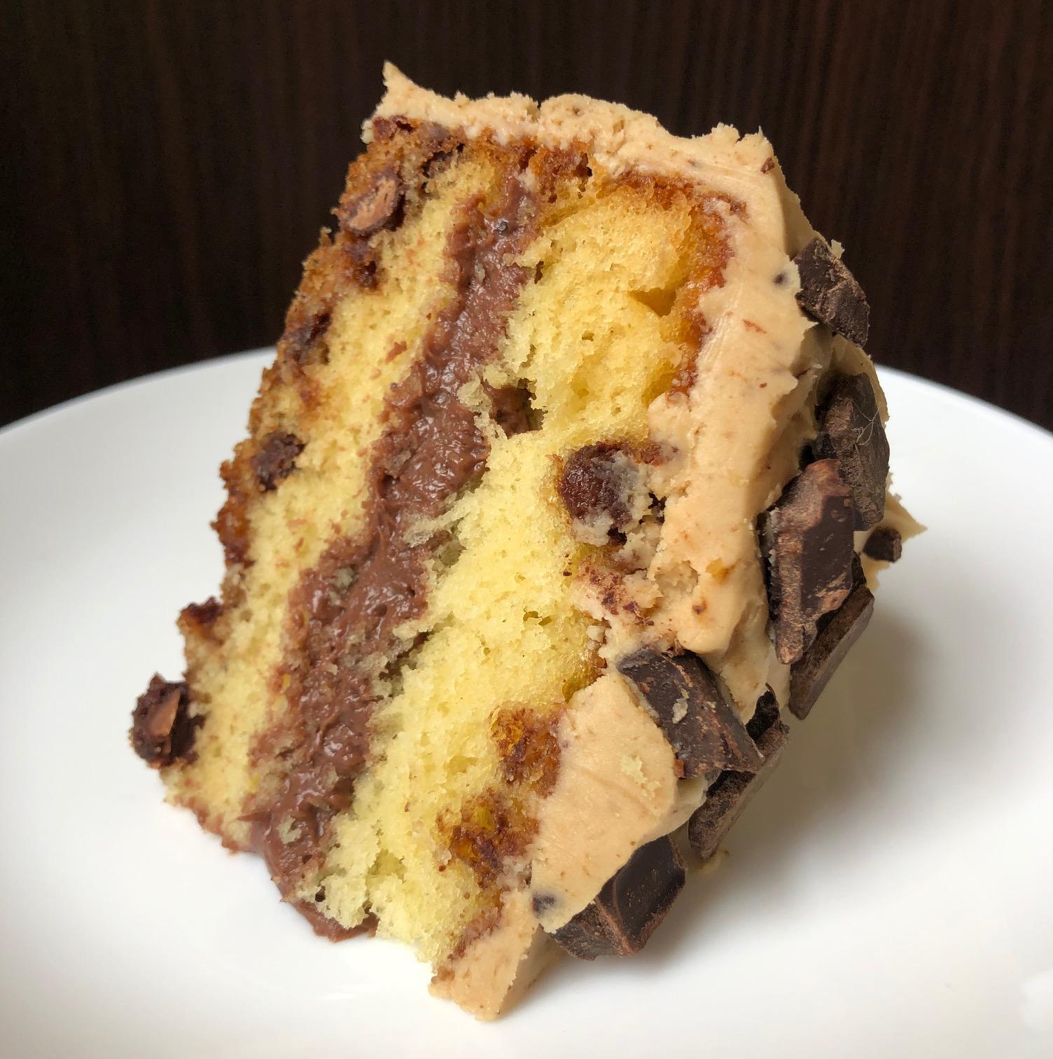 chocolate chip espresso cake