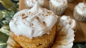 Light pumpkin Spice Cupcakes