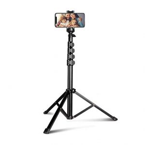 An Aureday Tripod Stand with Bluetooth Remote.