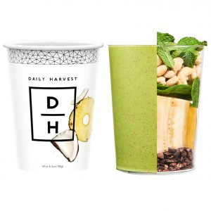 A Daily Harvest Smoothie.