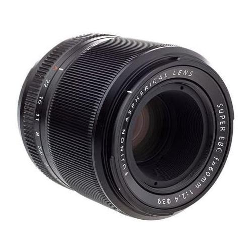 A Fujinon XF 60mm F2.4 R Macro lens.