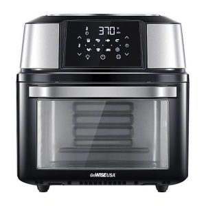 A GoWISE USA® Mojave 17 qt. Air Fryer Dehydrator in Black