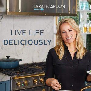 Live Life Deliciously With Tara Teaspoon book.