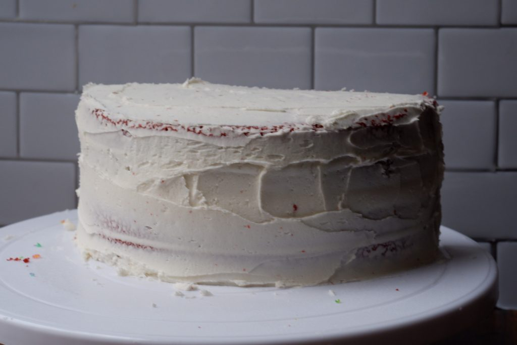 vanilla almond buttercream frosting