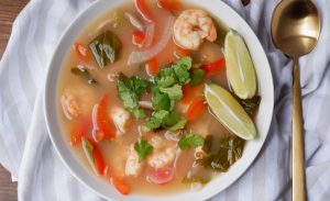 shrimp lemongrass soup