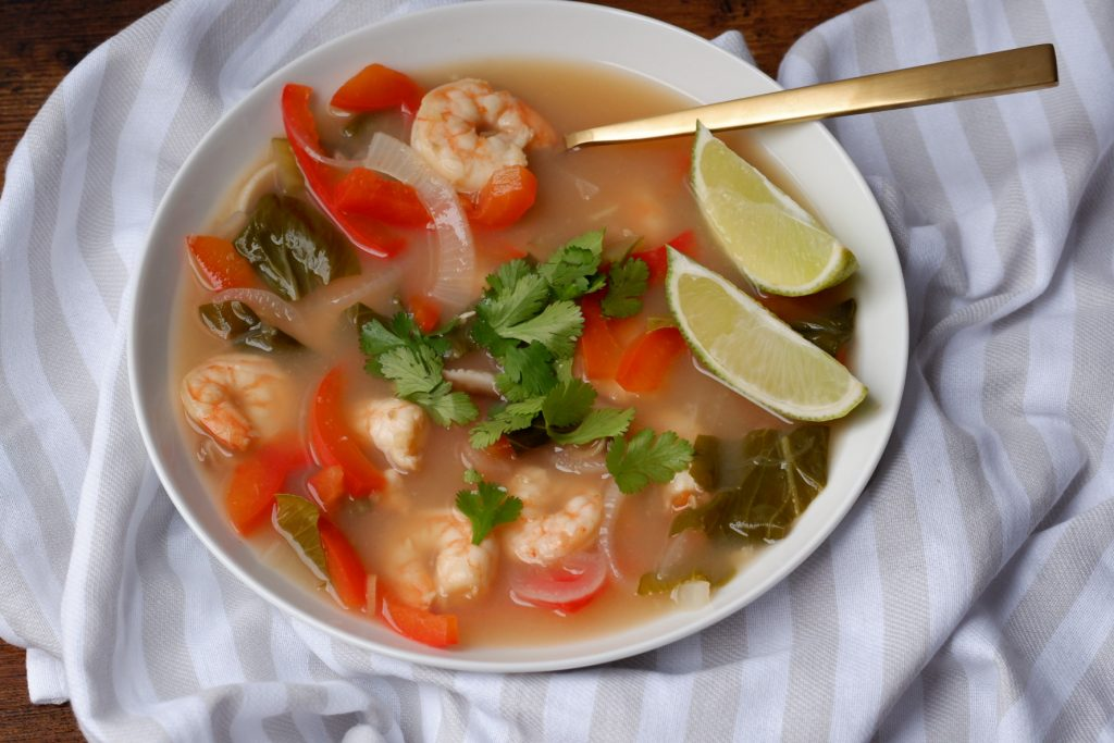 shrimp lemongrass soup