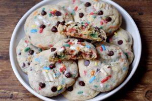 funfetti compost cookies