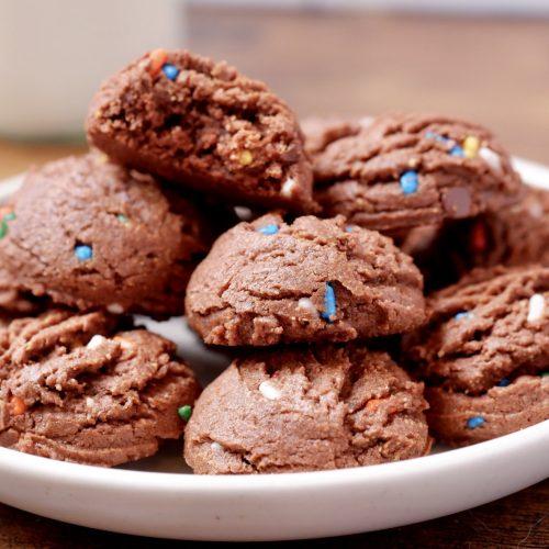 Gluten Free Chocolate Cashew Cookies