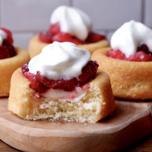 Berries and Cream Shortcake