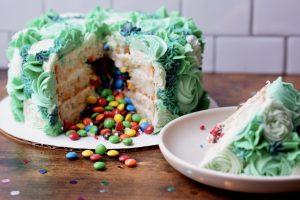 Confetti Explosion Cake