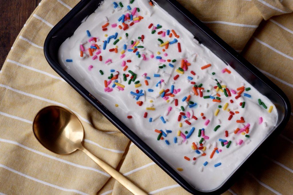 confetti icebox cake