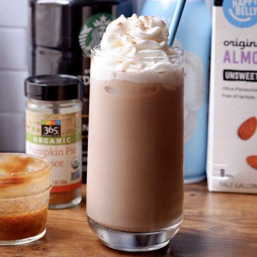 Pumpkin Spice Iced Coffee Protein Shake