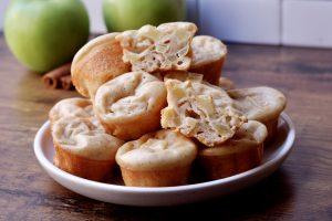 Apple Cinnamon Pancake Poppers