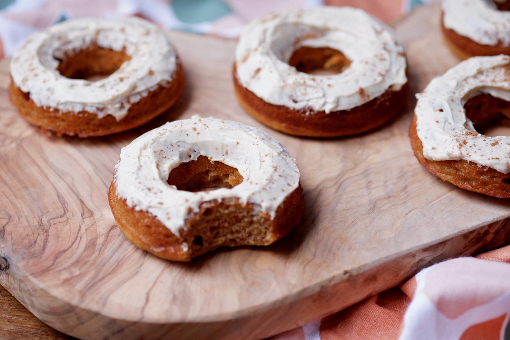 Healthy Pumpkin Donuts